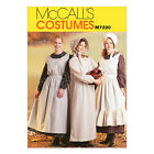 McCall's 7220 Sewing Pattern to Make Adult Pioneer/ Victorian Dress Apron Bonnet