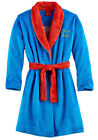 Superman Toddler Boys Blue Plush Robe Size 2T 3T 4T