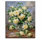 Framed Picture Home Decor Flower Painting By Numbers On Canvas Wall Art  For Liv