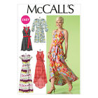 McCall's 7119 Easy Sewing Pattern to MAKE Wrap Dresses w/ Length & Hem Variation