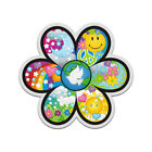 Flower Psychedelic Peace Decal Hippie Love Happiness Gloss Sticker HGV