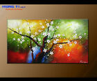 Modern Original Abstract Oil Painting Canvas Wall Art Decor Plum Blossom FY3682
