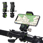 Bike LED Front Light Bicycle Phone Holder Stand Bracket Mount with Mini Compass
