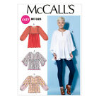 McCall's 7325 Easy Sewing Pattern to MAKE Misses' Gathered Tops and Tunic
