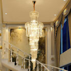 Modern Fashion K9 Crystal Chandelier Villa Stairs Hotel Lighting Fixture #8740
