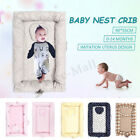 Внешний вид - Newborn Baby Nest Crib Babynest Sleep Snuggle Cot Bed Pod Bumper Soft Toddler