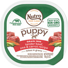 Nutro Puppy Tender Beef & Vegetable Recipe Cuts In Gravy Dog