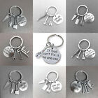 Family Love Charms Hand Tool Keyring Fathers Day Gifts For Dad Keychain Pendants