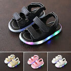 Cute Baby Boys Girls LED Lights Sandals Toddler Kids Beach Shoes Casual Shoes
