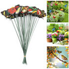 24/50pcs Butterfly Stakes Outdoor Yard Planter Flower Pot Garden Decor Yard US