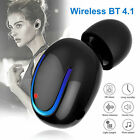 Bluetooth V4.1 Wireless Mini Earbud Headset Headphone w/ Mic Earpiece Call