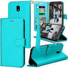 For Samsung Galaxy J3 2018 /J3 Emerge 2018 PU Leather Flip Card Slot Wallet Case