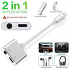 aux docks - New Charging Adapter for iPhone X 8/7/7 Plus Aux Audio Headphone Charge Cable