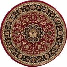 Noble Medallion Red Persian Floral Oriental Formal Traditional Area Rug