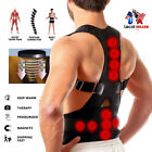 Внешний вид - US Posture Corrector Support Magnetic Back Shoulder Brace Belt For Men Women SFC