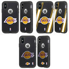 NBA LOS ANGELES LAKERS 2 BLACK SENTRY CASE FOR APPLE iPHONE SAMSUNG PHONES on eBay