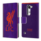 OFFICIAL LIVERPOOL FOOTBALL CLUB 2018/19 KIT LEATHER BOOK CASE FOR LG PHONES 2
