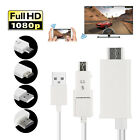 MHL Micro USB to HDMI 1080P HD TV Cable Adapter for Samsung Android Cell Phones