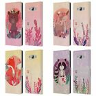 HEAD CASE DESIGNS WOODLAND ANIMALS LEATHER BOOK WALLET CASE FOR SAMSUNG PHONES 3