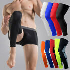 US Crossfit Compression Socks Knee High Support Leg Stockings Thigh Sleeve M-2XL