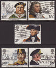 LOT#347r - GB QEII COMMEMORATIVE STAMPS (Multiple Listing) ISSUED 1981-1992 USED