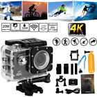 4K HD 1080P Sport Camera WiFi 16MP Video Recorder Waterproof DV Digital Camcorde