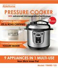 Electric Pressure Cooker Multi-function 8 Quarts 1250W Stainless Steel Yogurt UL