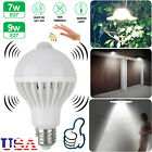 E27 7W/9W LED Indoor/Outdoor Motion Sensor Infrared Auto Light Bulb Dusk to Dawn