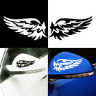 New Angel Wings Lovely Reflective Car Stickers Fashion Car Rearview Mirror Logo