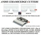 Andis Ceramic Edge Detachable Clipper Blade CUTTER*Fit Oster A5,Many Wahl,Geib