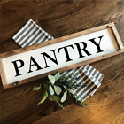 PANTRY Rustic LARGE Wood Sign Fixer Upper Farmhouse Primitive Handmade