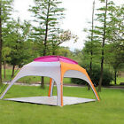 3-4 Person Automatic Pop Up Camping Tent Beach Canopy UV Rain Sun Shade Shelter