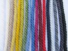 6mm COTTON FURNISHING CORD Piping Barley Twist Rope Upholstery Braid Trim