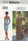 strapless dress pattern - Butterick 3372 Misses Strapless Evening Formal Prom Dress Sewing Pattern