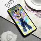 Anime Dragon Ball Z Black/Clear TPU Phone Case Cover For Samsung S7E S8/S9 Plus