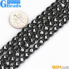 Black Hematite Gemstone Beads For Jewelry Making Free Shipping Assorted Shapes