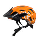 7iDP M2 MTB Mountain Bike Bicycling Helmet : Gradient Orange/Black/White