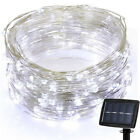 200LED Solar Powered Copper Wire Light String Fairy Party Decor Outdoor 3Colors