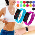 Fashion Hot Men/Women Sport LED Waterproof Rubber Bracelet Digital Wrist Watch image