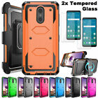 Внешний вид - For LG Stylo 3 / Stylo 4 Shockproof Impact HYBRID Armor Rubber Rugged Case Cover