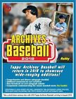 2018 Topps Archives - Rookie History Singles - Inserts - You Select on Ebay