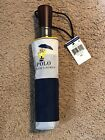 New Polo Ralph Lauren Foldable Compact Umbrella W/ RAINCOAT BEAR NAVY AND WHITE