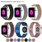for Apple Watch iWatch 3 2 1 Band Strap Milanese Stainless Steel 38mm 42mm image
