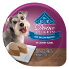 Blue Buffalo Divine Delights Small Breed Top Sirloin Pate Dog Food Cup
