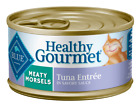 Blue Buffalo Healthy Gourmet Meaty Morsels Tuna Entree Canne