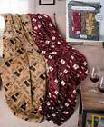 2 PK Plush Throw Gift Sets Polyester Gift Giving Cozy Blanket Machine Care New