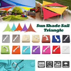 Triangle Sun Shade Sail Waterproof Outdoor Top Canopy Patio Windshield Block