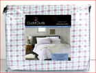 Cuddl Duds Heavy Weight 100% Cotton FLANNEL Sheet Set - Purple Blue Checks Plaid image