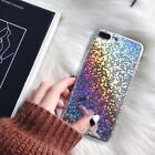 For iPhone X 7 8 Plus Case Cute Silver Glitter iPhone Case Luxury Bling Covers