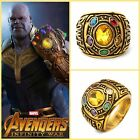 US!Infinity War Thanos Power Stone Halloween Cosplay Adults Alloy Ring Prop Gift